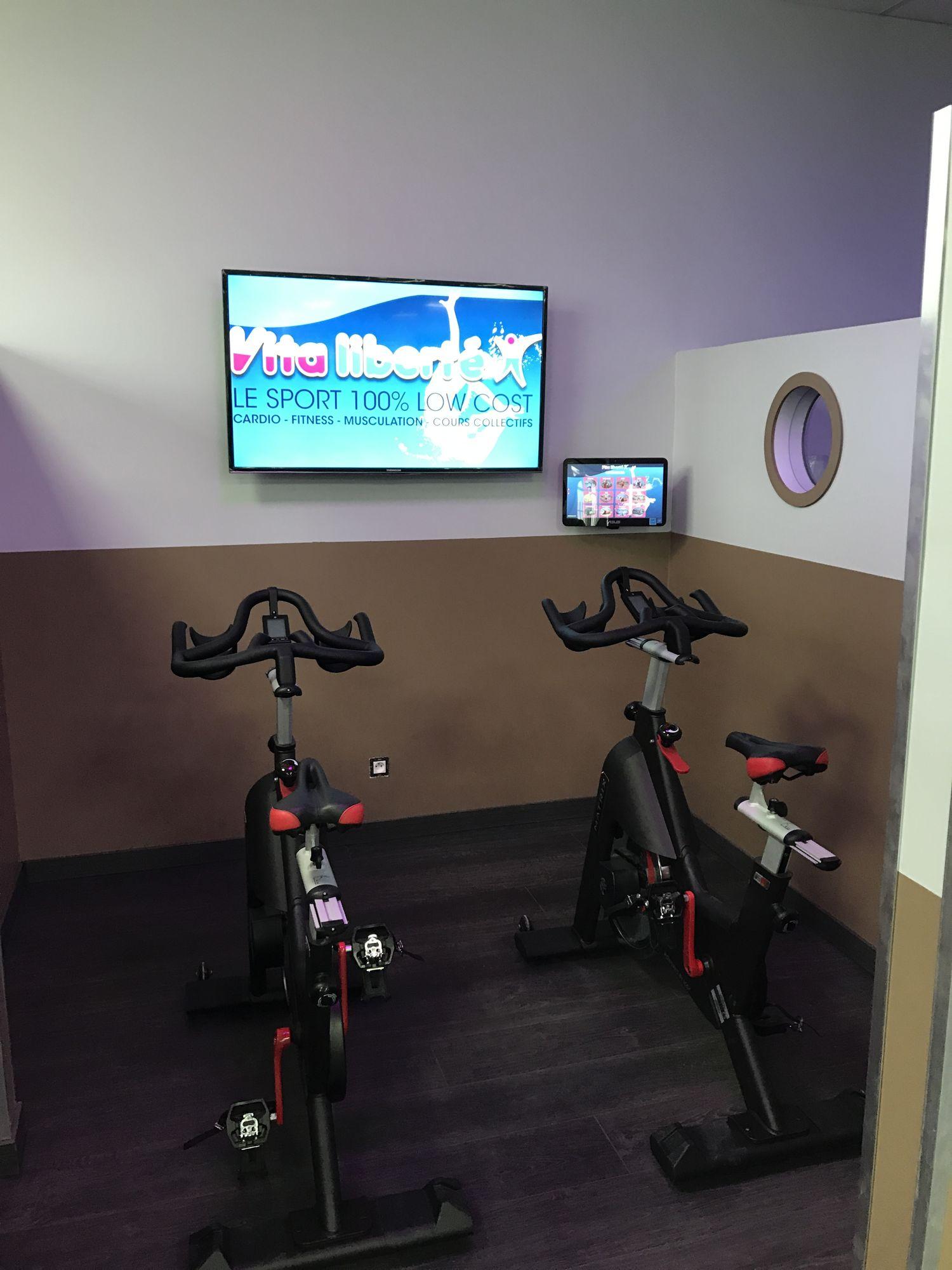 Salle de sport Vita liberté Castres bike