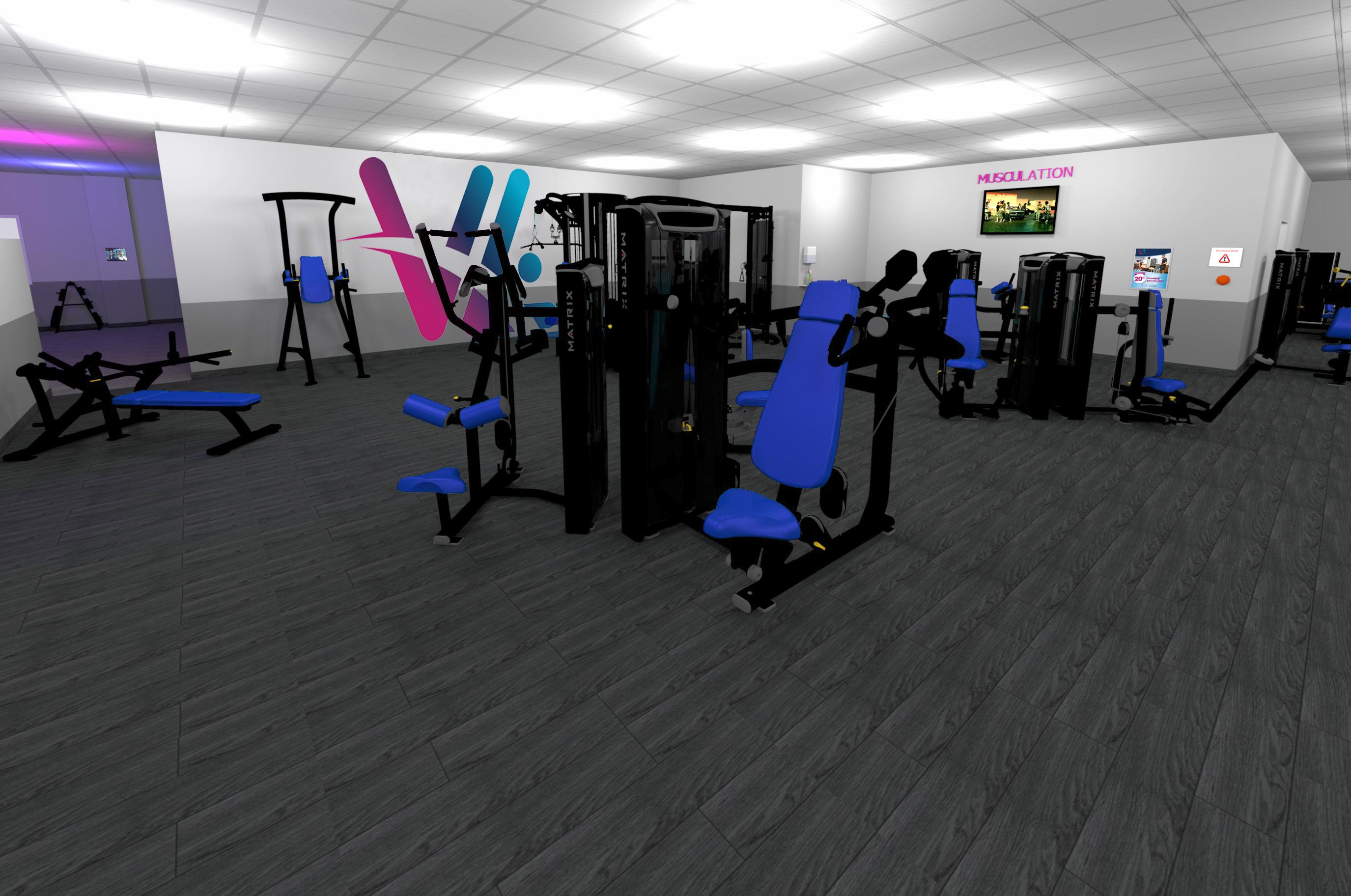 Salle de sport Vita liberté la Destrousse musculation