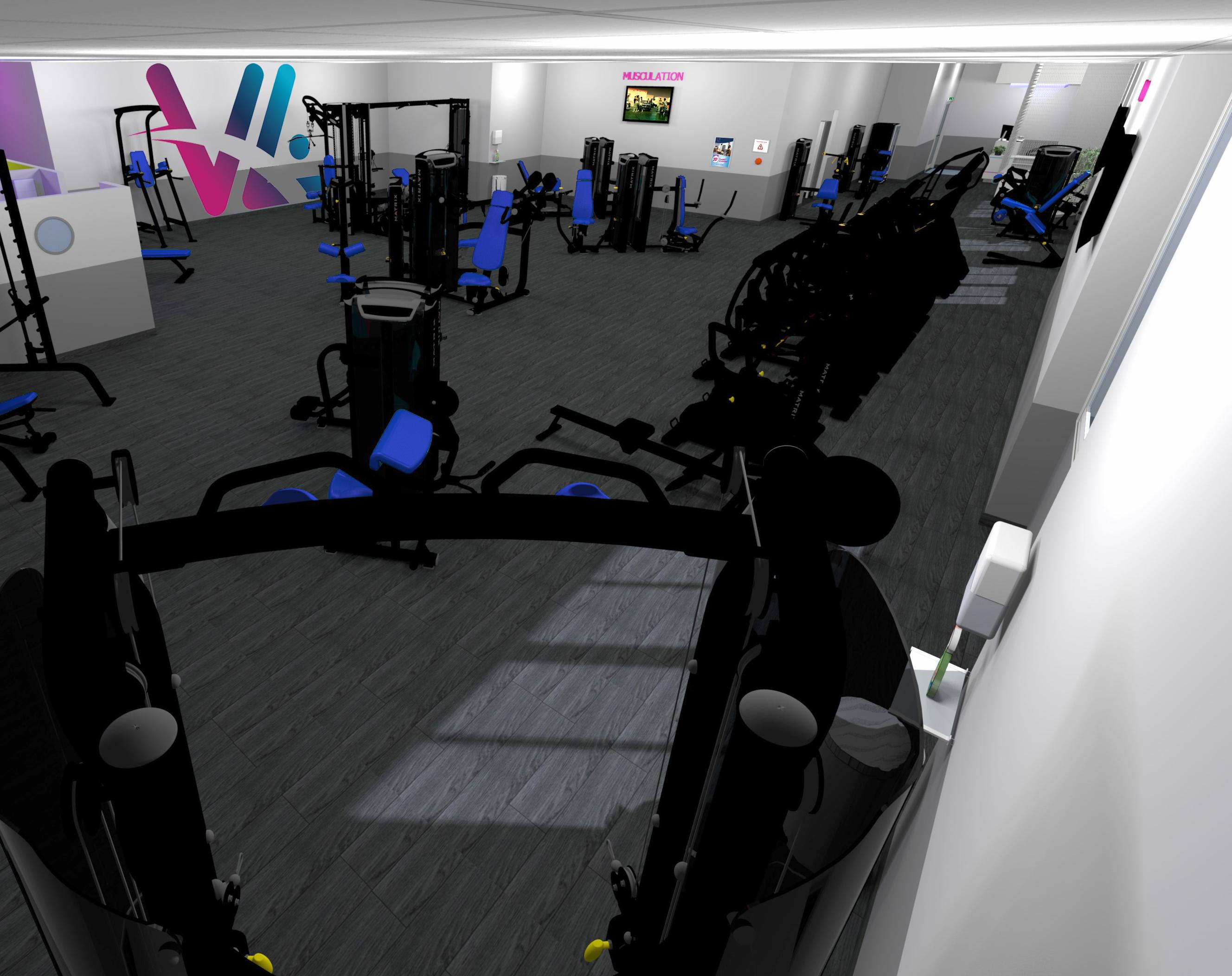 Musculation Vita liberté salle de sport la Destrousse