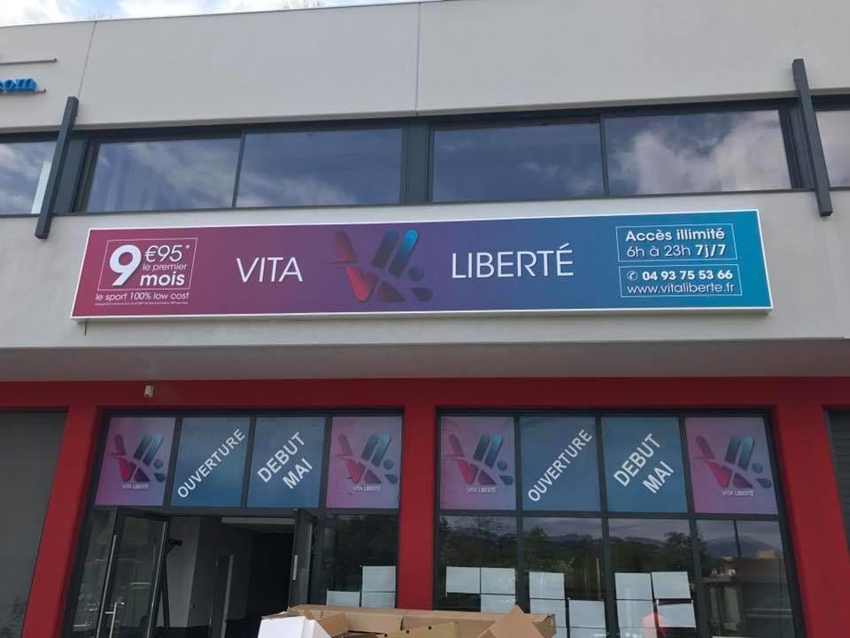 Vita Liberté Mouans - Sartoux , extérieur.