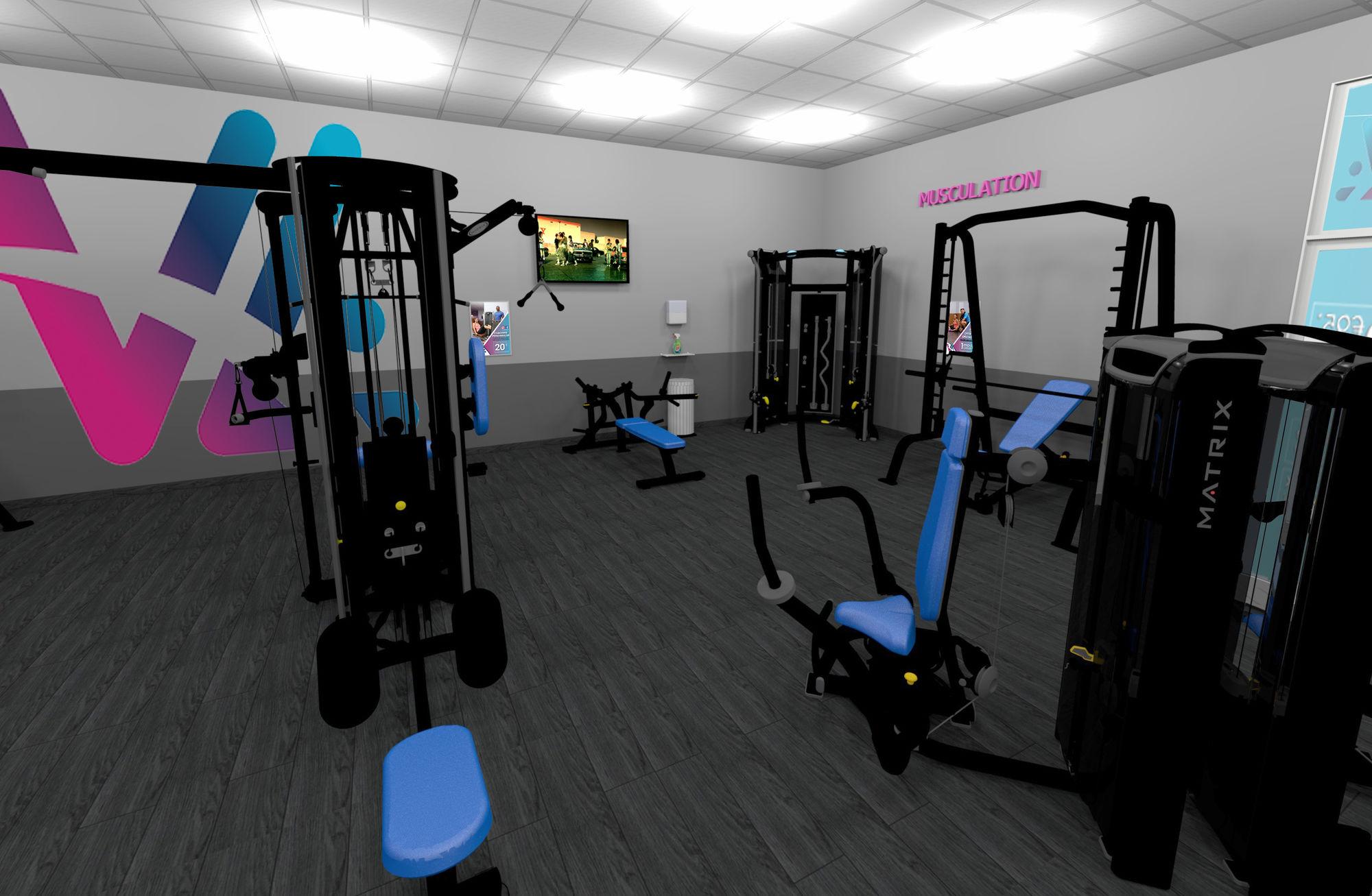 Salle de sport Vita liberté la Fare-les-Oliviers muscu