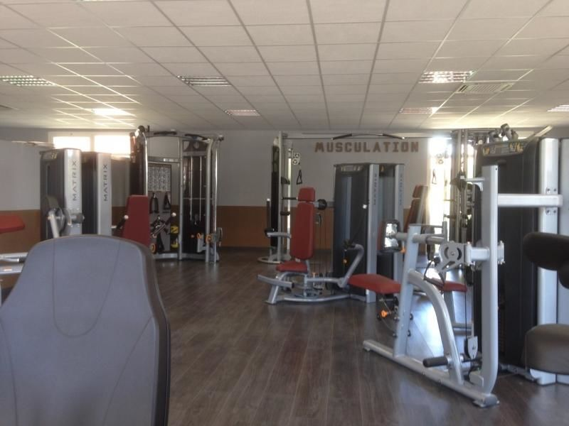 Espace musculation salle de sport Vita liberté Aix ouest