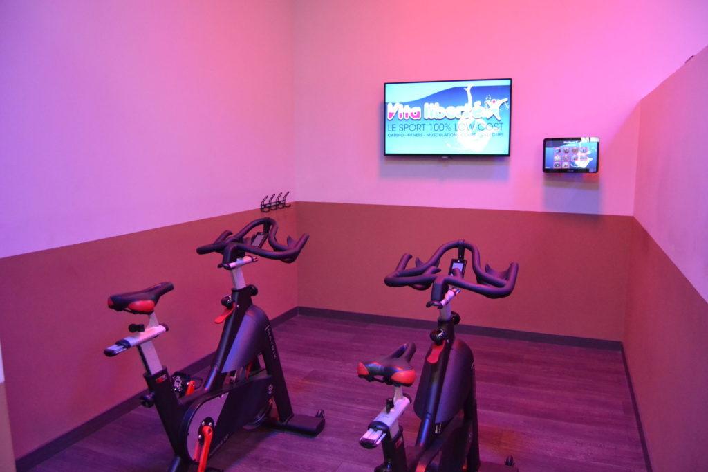 Salle de sport Vita liberté bike
