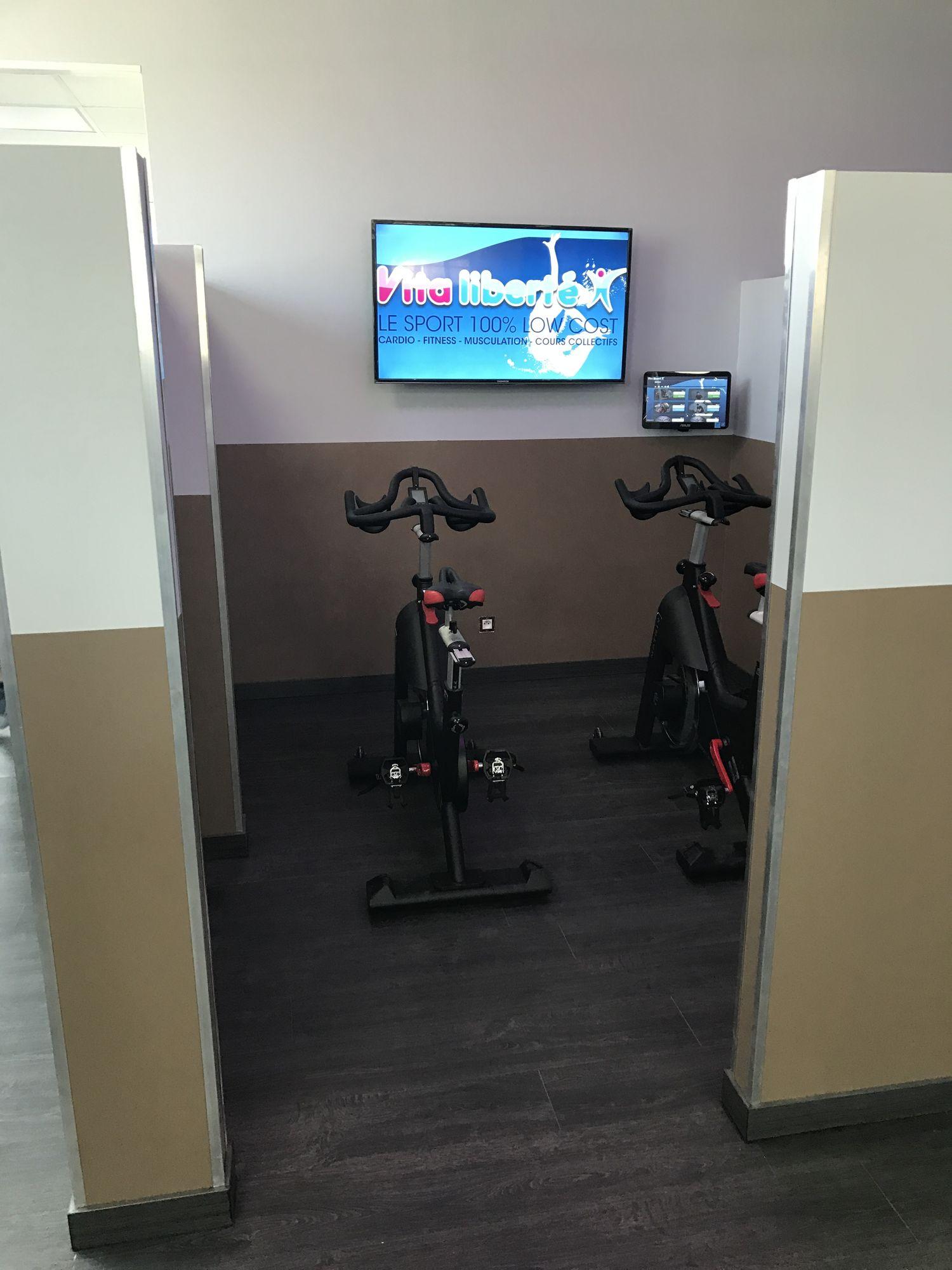 Salle de sport Vita liberté Castres bike 2