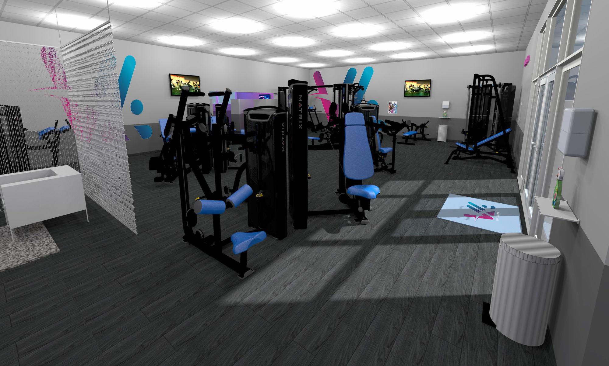 Salle de sport Vita liberté la Fare-les-Oliviers musculation