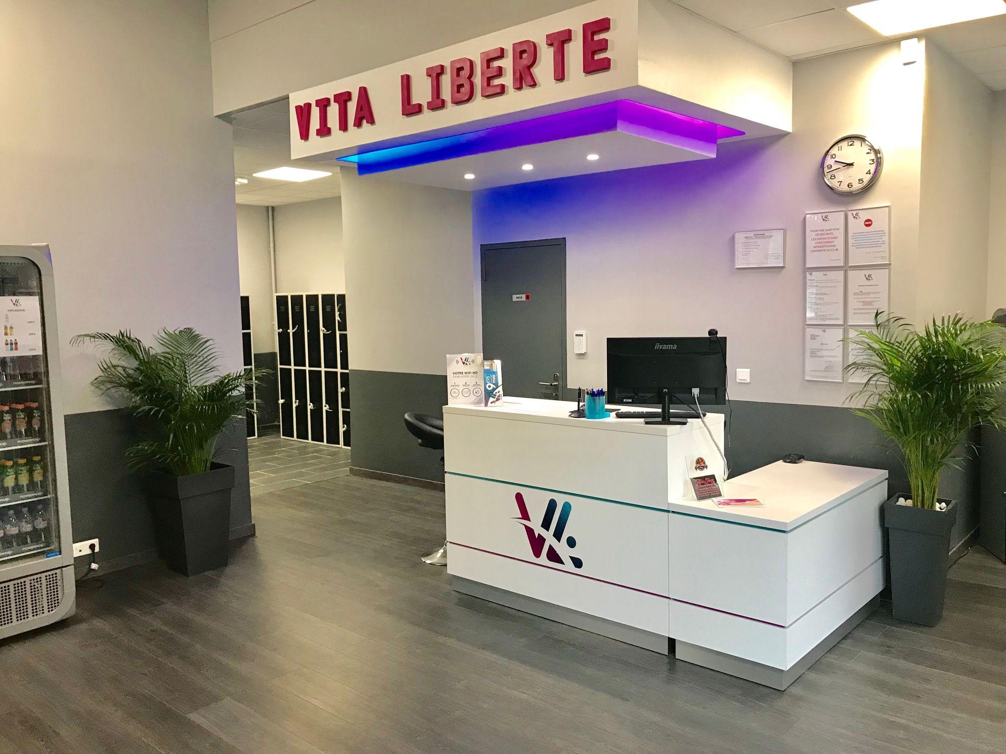 Salle de sport Vita liberté Martigues accueil