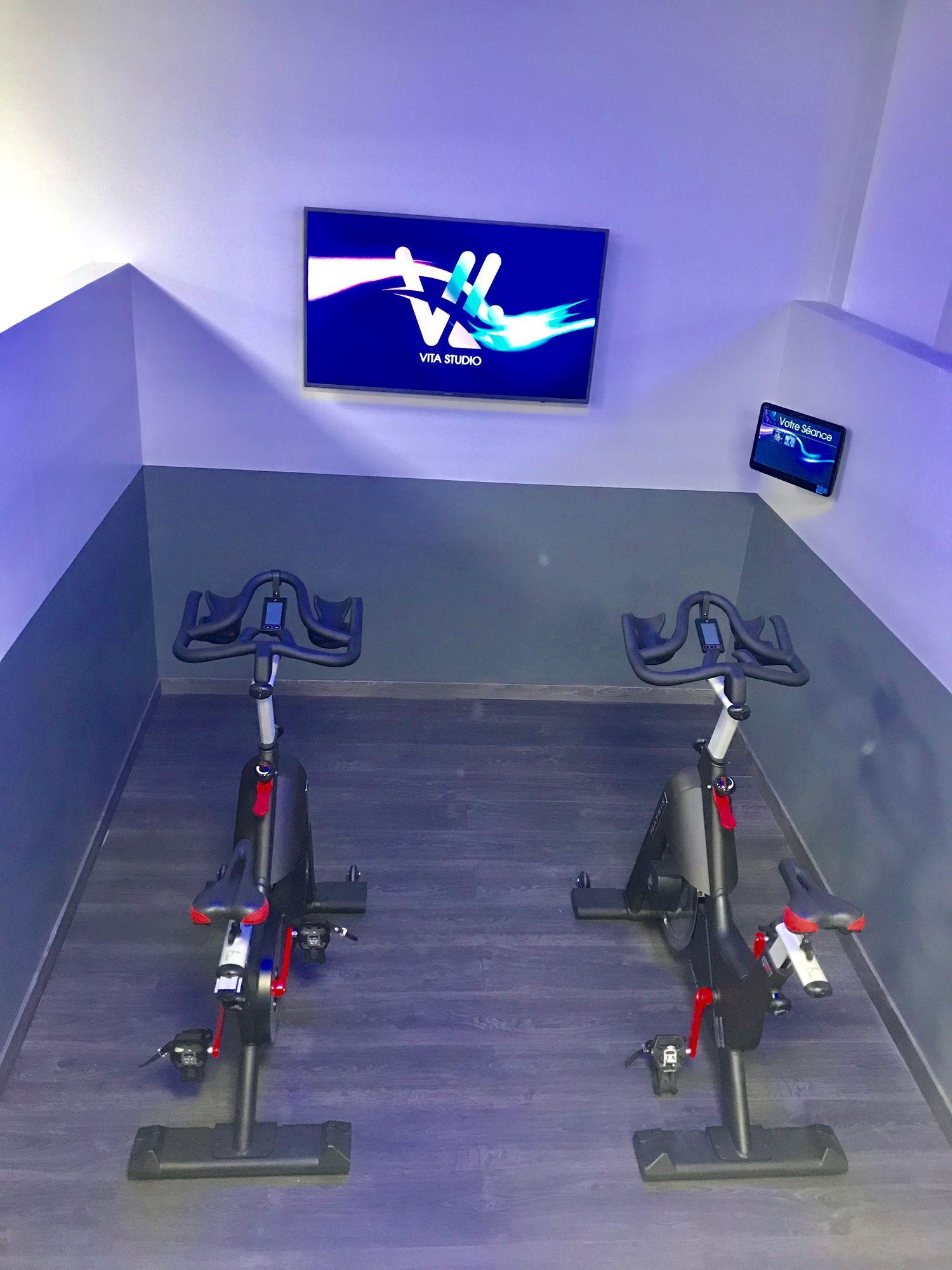 Salle de sport Vita liberté Martigues bike