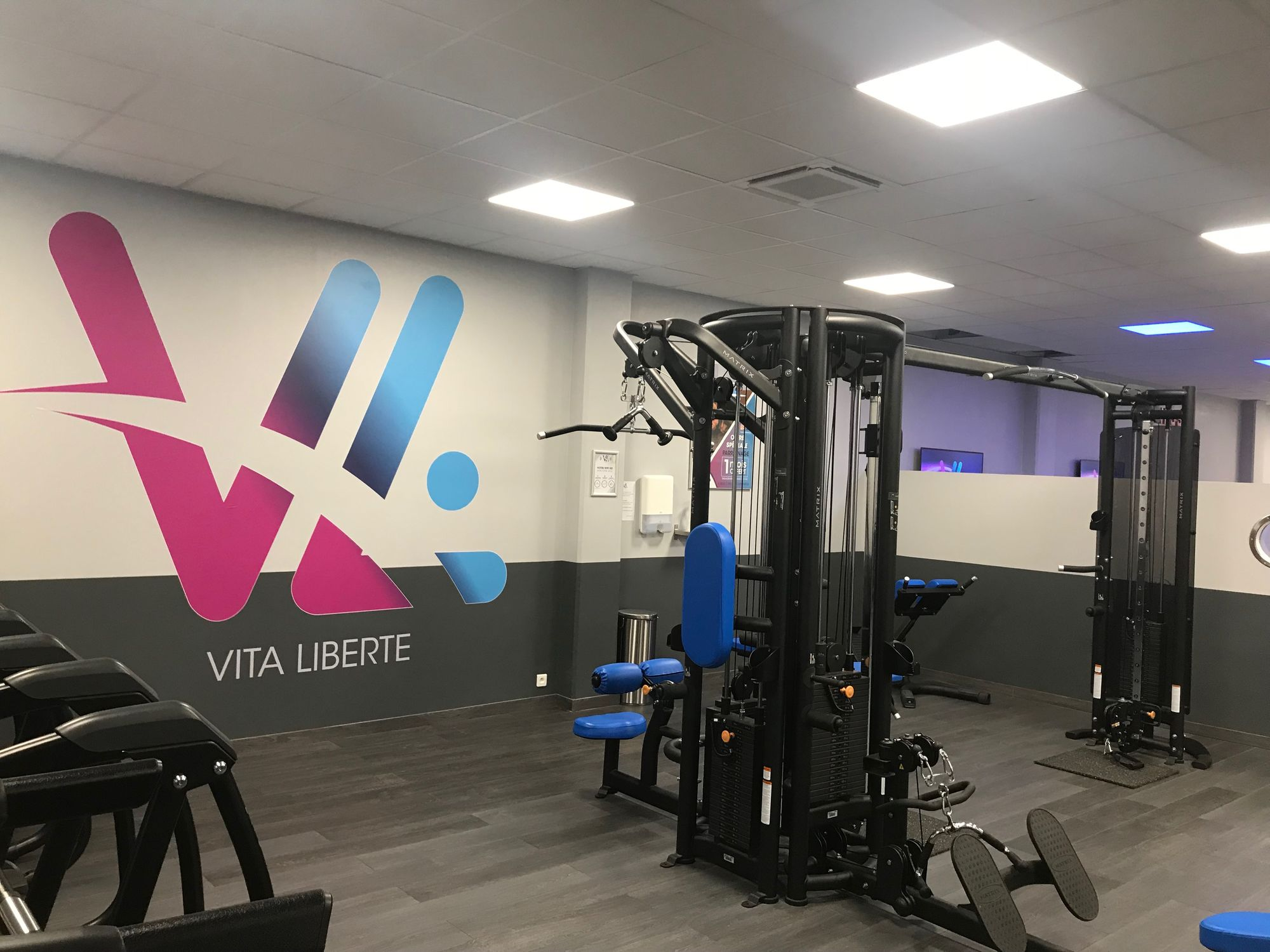 Salle de sport Vita liberté Martigues muscualtion