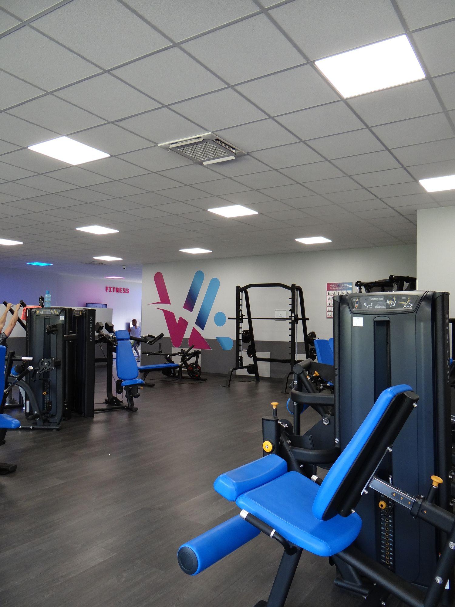 Salle de sport VIta liberté la Destrousse muscu