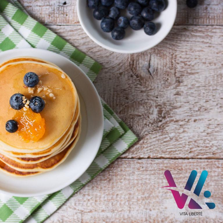 Vita liberté vous propose son petit déjeuner équilibré.