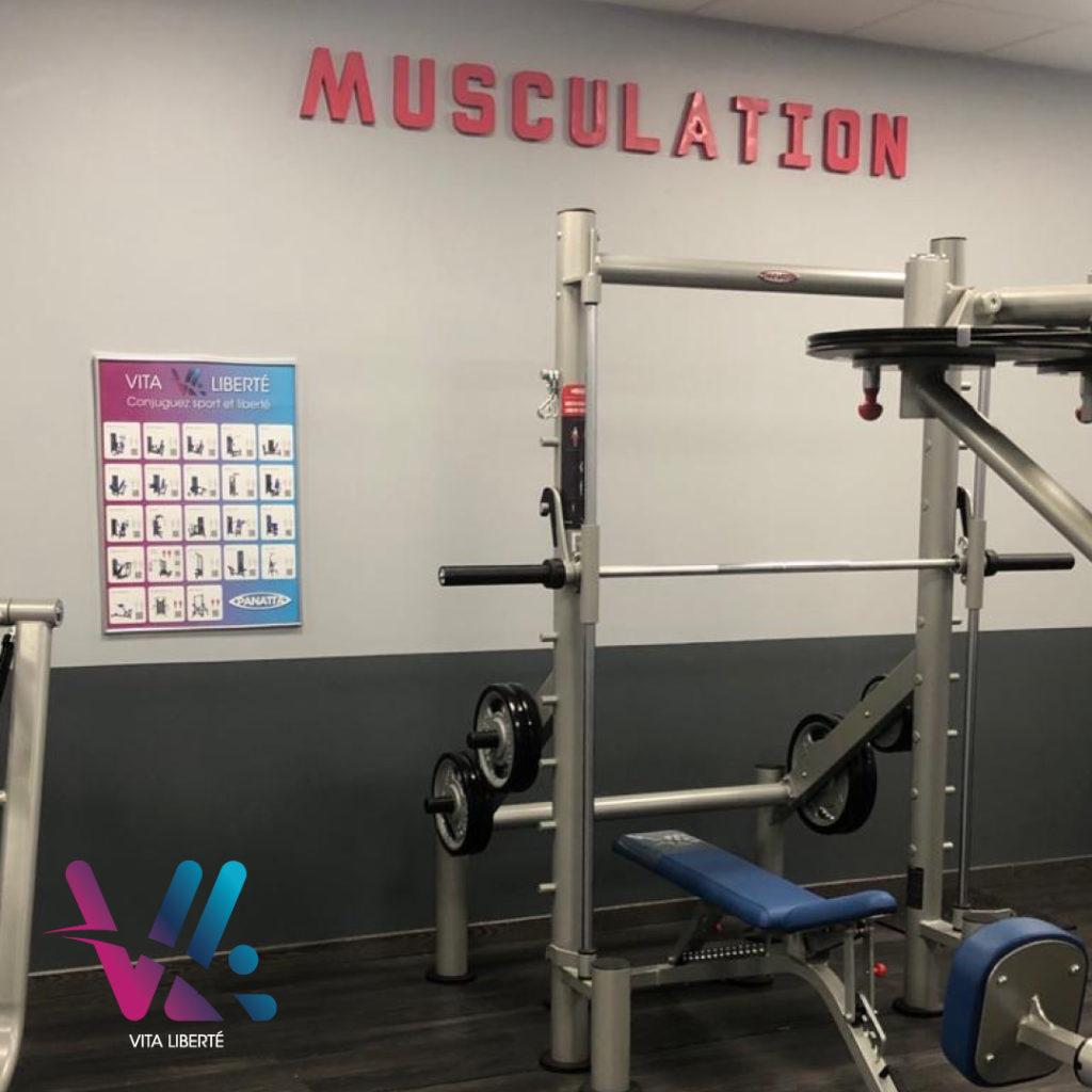 musculation vita liberté